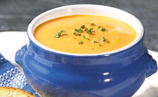 Epicure's Creamy Carrot Soup