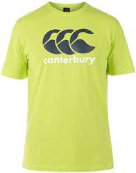 Canterbury CCC Logo T-Shirt LIME PUNCH
