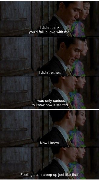 In the Mood for Love, Kar Wai Wong (2000)