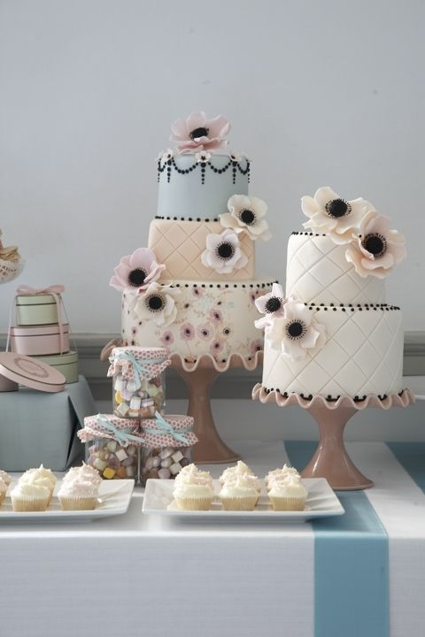 Renowned pastry chef @Peggy Campbell Campbell Campbell Porschen loves anything pretty, dainty or feminine. @Mandy Bryant Dewey Seasons Bridal