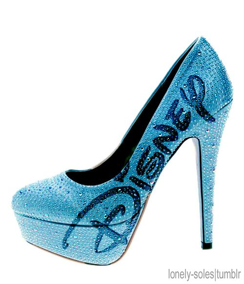 !!!!: Disney Shoes, Blue Disney, Disney Princesses, Disney Clothing, Blue Heels, High Heels, Something Blue, Disney Heels, Disney Fashion