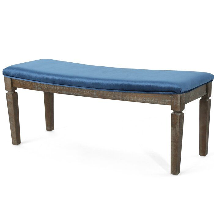 Merriweather Upholstered Bench Upholstered Bench Wood Bench Bench