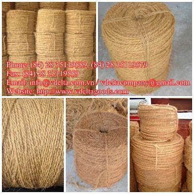 Coconut fiber sellers: COCONUT COIR ROPE