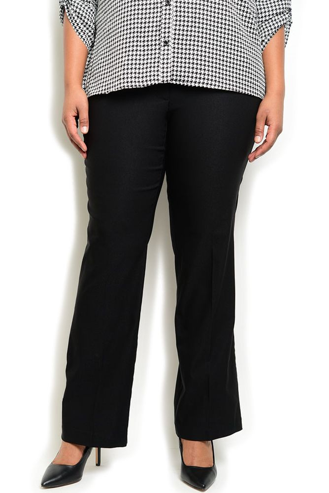 DHStyles Women's Black Plus Size Professional Classy Loose Fit Stretch Trouser Pants - 1X Plus #sexytops #clubclothes #sexydresses #fashionablesexydress #sexyshirts #sexyclothes #cocktaildresses #clubwear #cheapsexydresses #clubdresses #cheaptops #partytops #partydress #haltertops #cocktaildresses #partydresses #minidress #nightclubclothes #hotfashion #juniorsclothing #cocktaildress #glamclothing #sexytop #womensclothes #clubbingclothes #juniorsclothes #juniorclothes #trendyclothing…