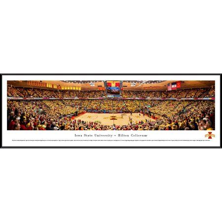 Iowa State Cyclones Basketball - Blakeway Panoramas Ncaa College Print with Standard Frame