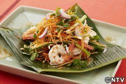 もこみち流 アジア風 ゆでエビとにんじんのサラダ
