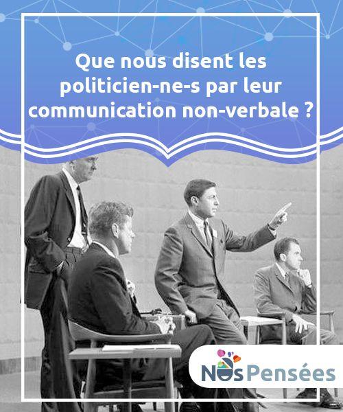 Que nous disent les politicien-ne-s par leur communication non-verbale?   Lorsqu'il s'agit de #communication de masse, les gestes ont #souvent plus d'impact que les propres mots (le contenu du #discours).  #Psychologie