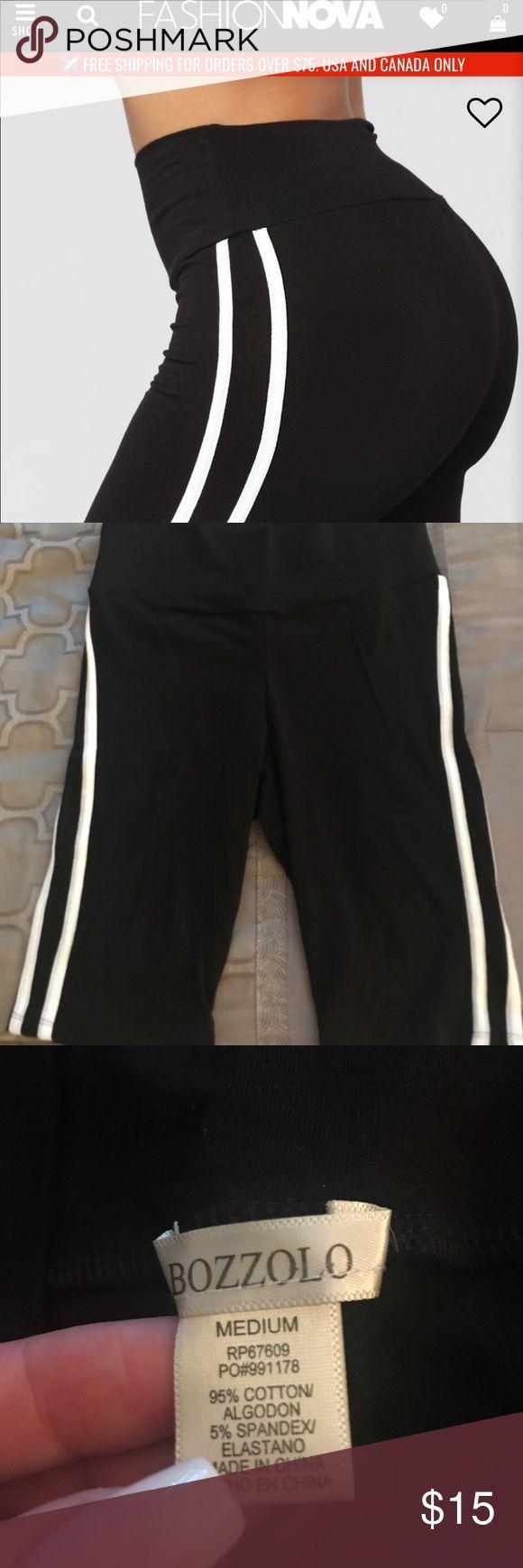 Fashion Nova Black Biker Shorts Size MEDIUM • never worn • comes w/ free mat…   – Biker Shorts