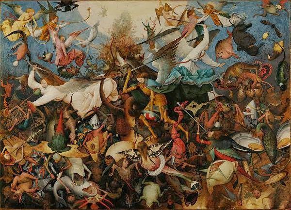perang malaikat dan iblis