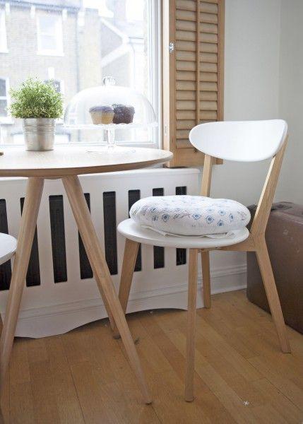 2 X Fjord Esszimmerstühle, Weiß Und Eiche. Compact Dining TableDinning ...