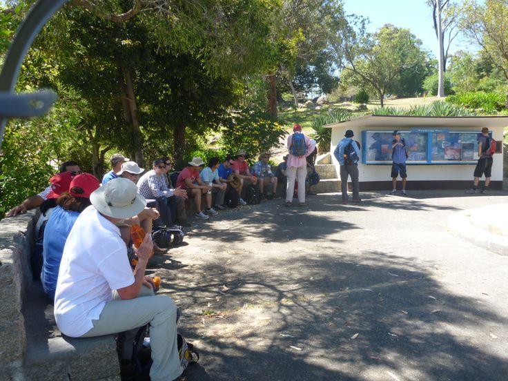 Taking a break - Group Activities on the Bibbulmun Track organised by the Bibbulmun Track Foundation
