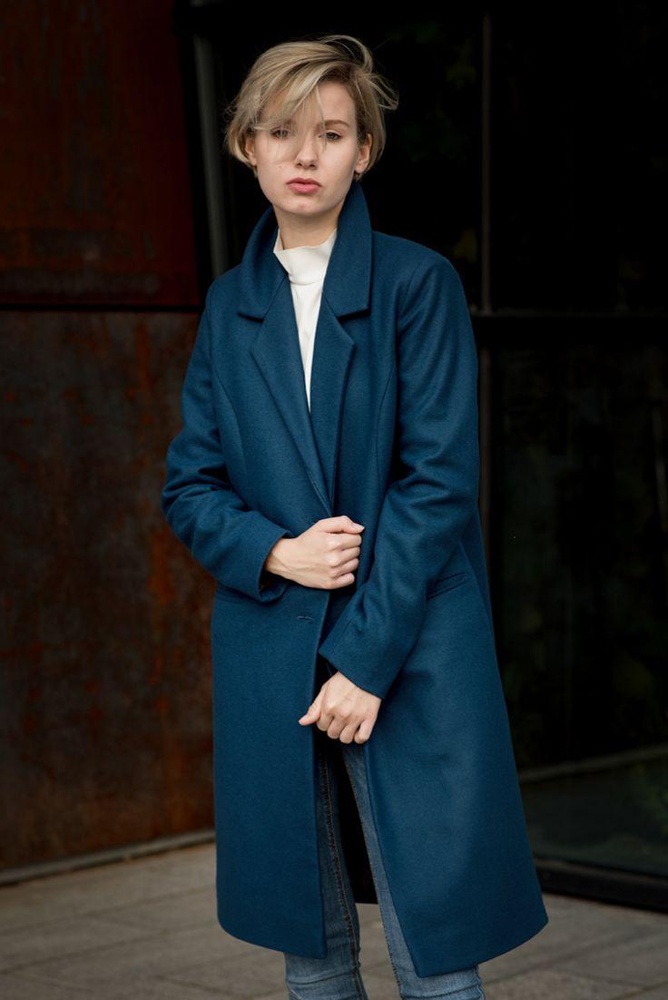 Płaszcz ALEX Blue * * *
