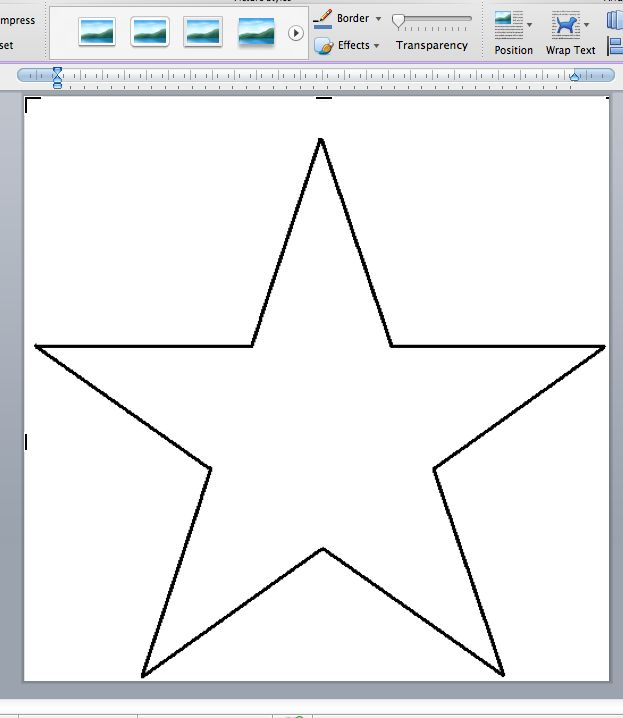 Weathered star wall art tutorial