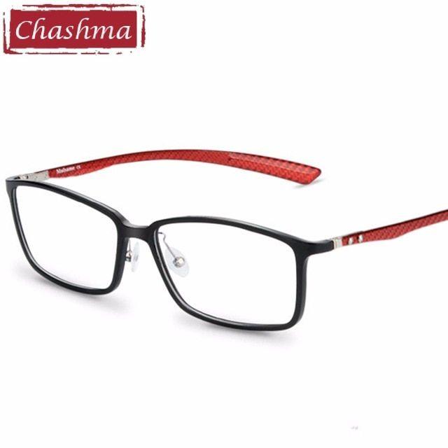 Chashma Brand Carbon Fiber Male Frame Armacao Oculos De Grau Eye