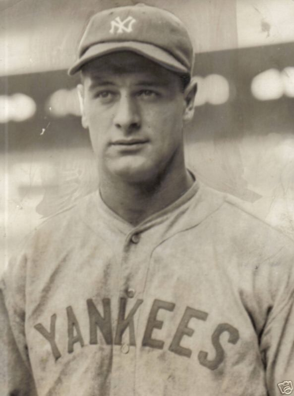 Vintage 1923, Lou Gehrig joins the New York Yankees, www.RevWill.com
