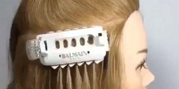 Hair Extension Machine - Balmain Hair Tool for Extensions