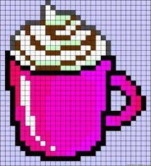 Dessin Pixel Kawaii Nourriture Dernier D
