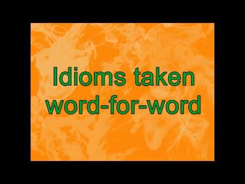 Idioms in Movies - YouTube