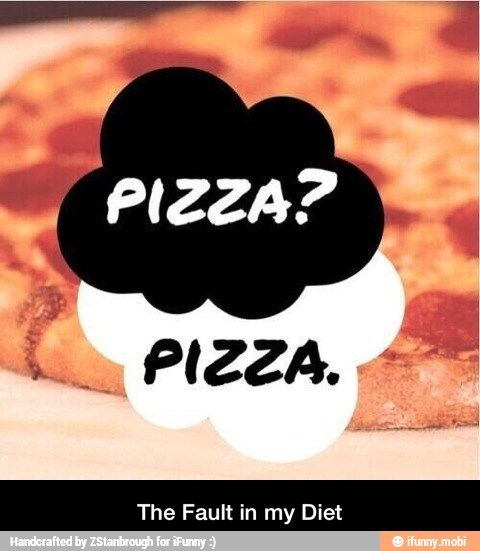 the fault in my diet