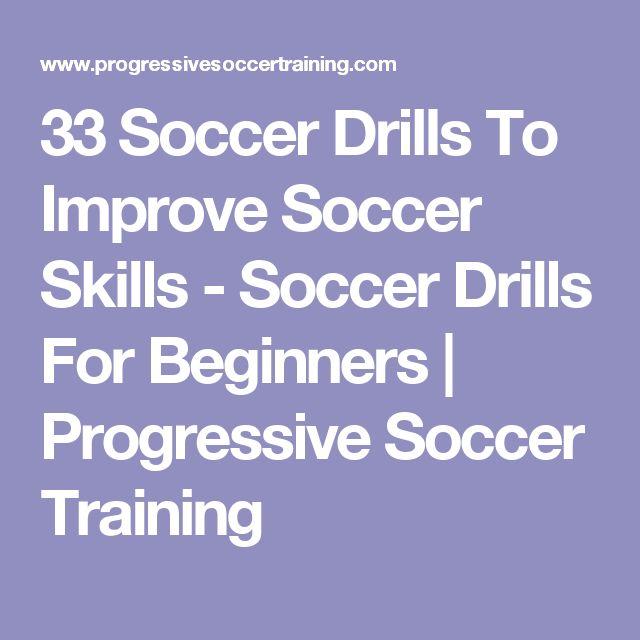 33 Soccer Drills To Improve Soccer Skills - Soccer Drills For Beginners | Progressive Soccer Training