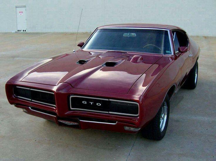 68 Pontiac GTO.