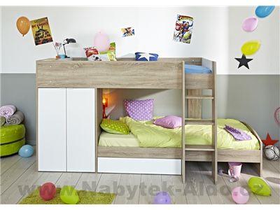 Dětská patrová postel Stim 2141LISU