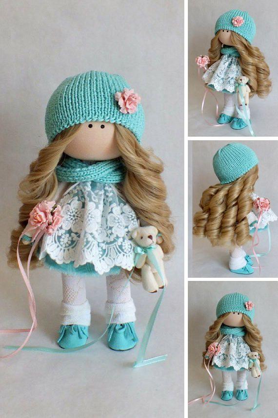 Muñecas Tilda doll Bambole Rag doll Soft doll Poupée Art doll