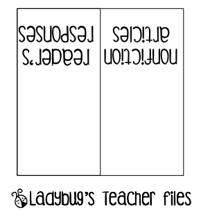 Ladybug's Teacher Files: Sticky note binder tabs