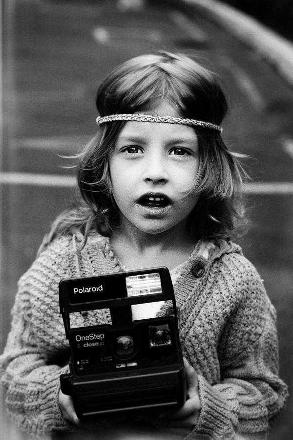 I love my old Polaroid camera!