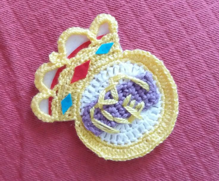 Escudo Real Madrid Crochet
