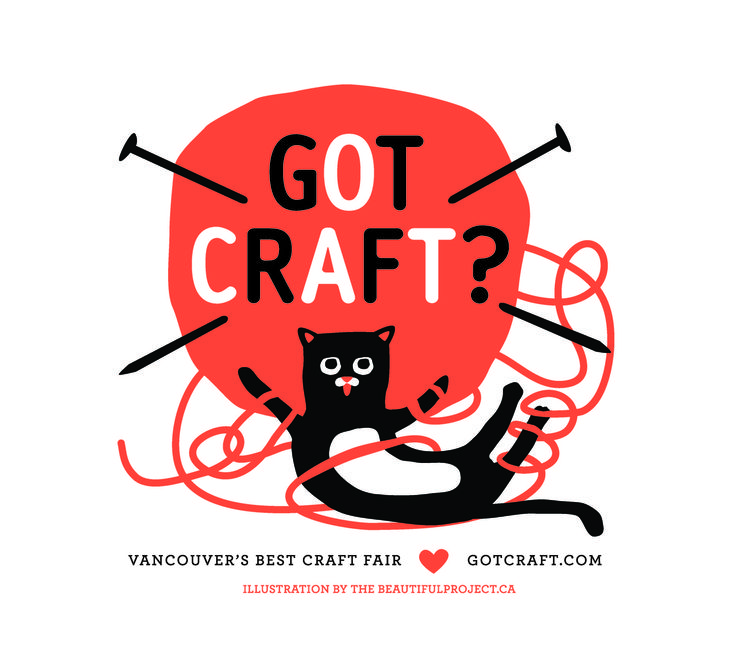 Got Craft? Tote Bag Logo Design by The Beautiful Project