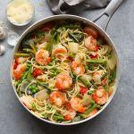 Asparagus Shrimp Scampi