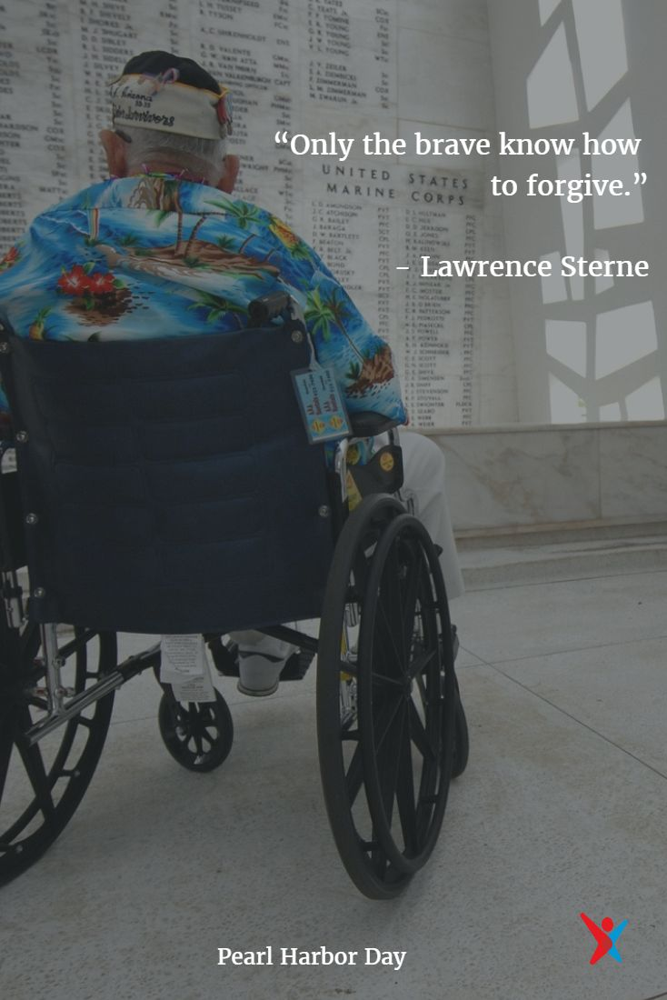 Respect on this Pearl Harbor Remembrance Day. #inspirational quotes #forgiveness
