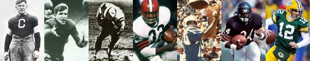 The Pro Football Hall of Fame's archives houses the world's largest collection of information on the sport. The following are links to stories on our website created from the more than 18 million pages of documents found in our library.