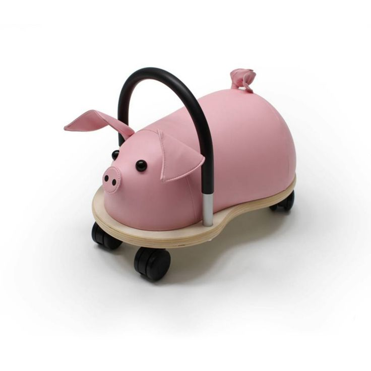 Prince Lionheart Pig Wheely Bug Riding Push Toy - 7512DC.2
