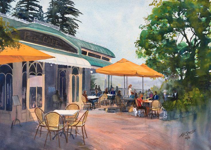 Poets Café, Montville, QLD