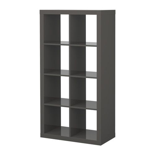 EXPEDIT Scaffale - marrone-nero - IKEA