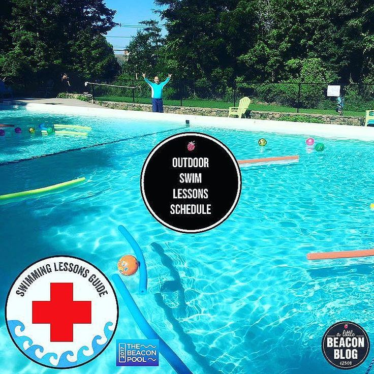 Who's ready to go swimming? We just shared the outdoor swimming lessons schedule from City of Beacon Recreation taking place at The Beacon…
