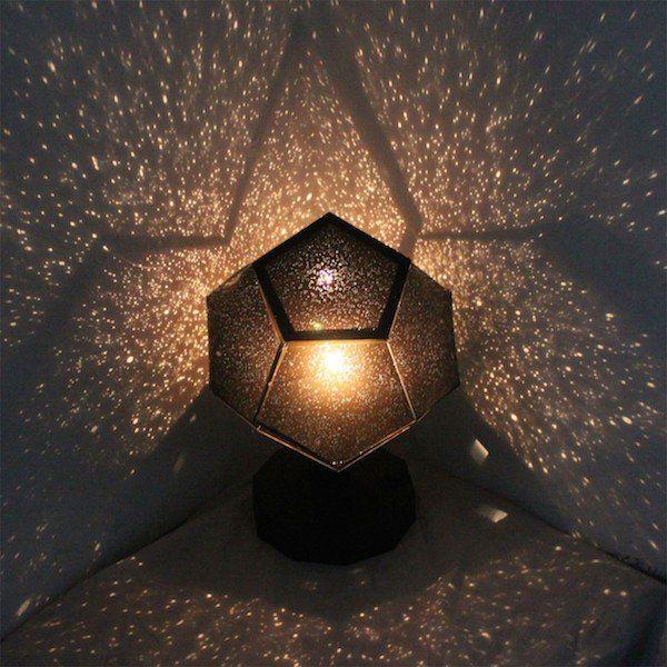 Simple Jede Nacht unter den Sternen einschlafen Dieser Traum wird dank den DIY Projektors Wirklichkeit