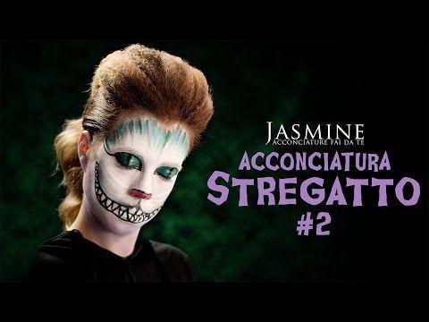"""Come fare il """"Volume anni '80""""   Come acconciarsi per Halloween   Le Acconciature di Jasmine - YouTube"""