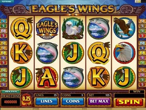 Eagle's Wings – Free Slot Game