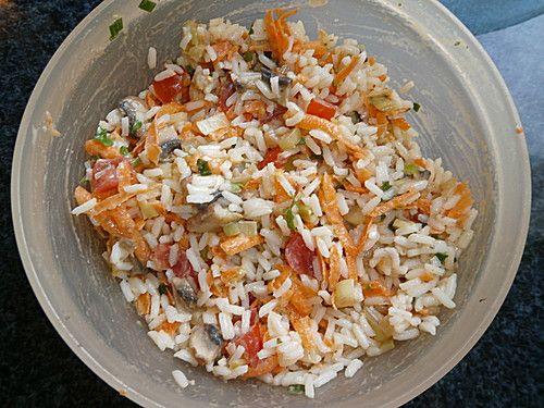 Finnischer Reissalat, ein schönes Rezept aus der Kategorie Schmoren…