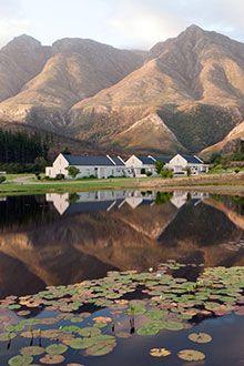 Cape Dutch style cottages at Gaikou Lodge, Swellendam. BelAfrique - Your Personal Travel Planner - www.belafrique.co.za