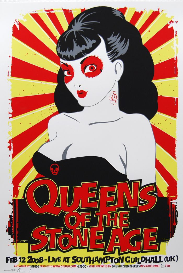 QUEENS OF THE STONE AGE - 2008