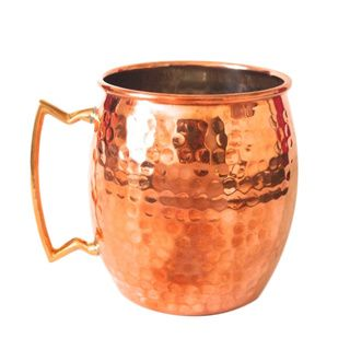 @Overstock - 16-ounce Hammered Copper Mug - Sometimes a certain beverage or special occasion calls for an elegant and unique mug to be used. This copper mug features a hammered finish that is sure to turn more than a few heads when you begin taking a few sips.  http://www.overstock.com/Home-Garden/16-ounce-Hammered-Copper-Mug/9375721/product.html?CID=214117 $22.99