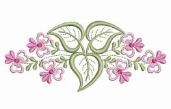 Dainty Roses 7 - 2 Sizes! | What's New | Machine Embroidery Designs | SWAKembroidery.com Ace Points Embroidery