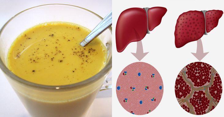 Esta gran receta de bebida de cúrcuma te ayudará a limpiar el hígado, ahora vamos a echar un vistazo a los increíbles beneficios del té de cúrcuma.