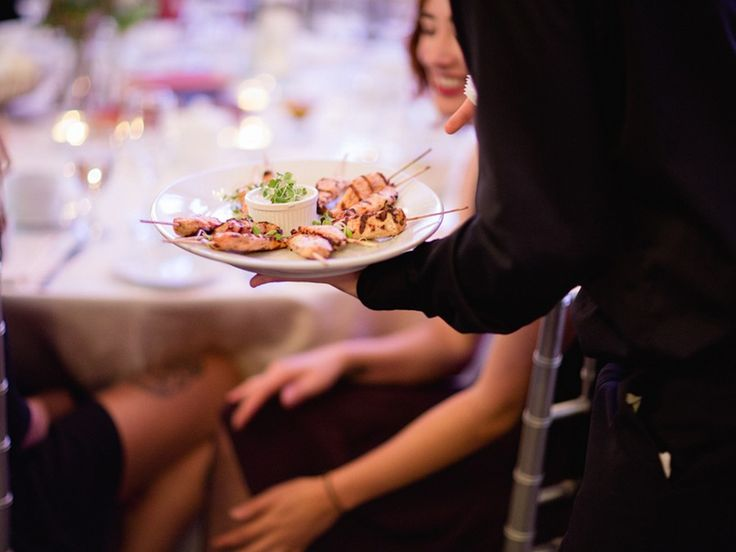 Berkeley Catering- cocktail style wedding