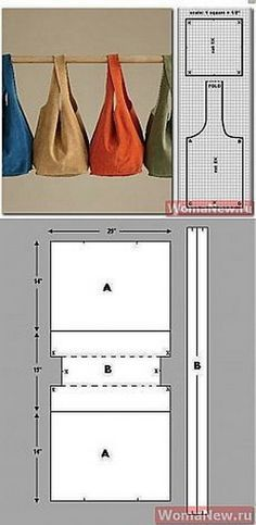 EL JARDIN DE LOS SUEÑOS: DIY bolsos de tela   Supernatural Styl