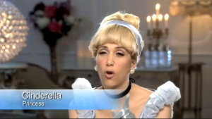 "Kristen Wiig as  Cinderella on ""Real Disney Housewives"""